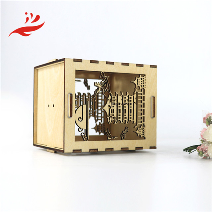 art minds hot sale wood custom song music box for business gift