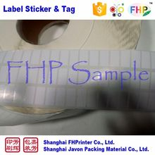 Top grade new design self adhesive decorative blank labels