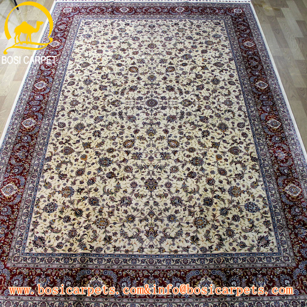 6x9ft persian silk rug and carpet factory price handmade home textile new carpet design belgium carpet
