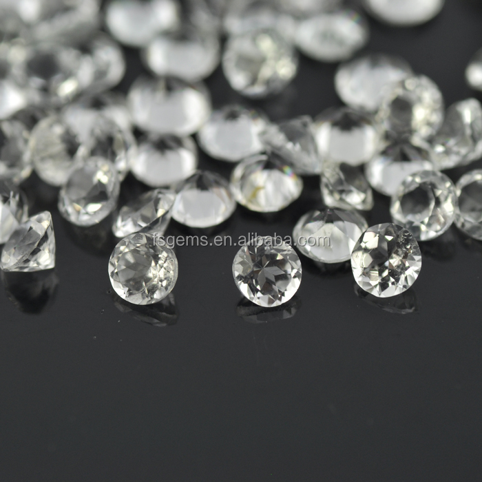 Manufactorer Wholesale Round 2.75mm Faceted CutTopaz Gems Natural Loose Gemstone