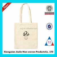 2014 China wholesale natural reusable cotton tote bags