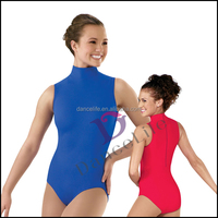 A2036 Zipper Back adult sexy Leotards wholesale ballet dance leotards for sexy dance leotards women