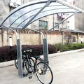 Curve Outdoor Bike Shelter