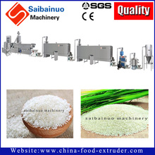 stainless steel artificial rice extruder machine