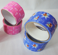 DIY waterproof cloth duct tape with logo for gift decoration