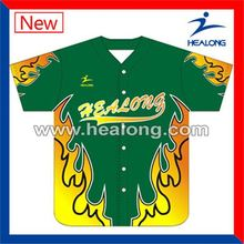 Healong Odm Fluorescent Usa Baseball Uniforms