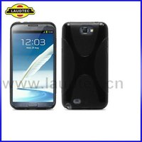 X Series Silicone Gel Case Cover for Samsung Galaxy Note 2 N7100