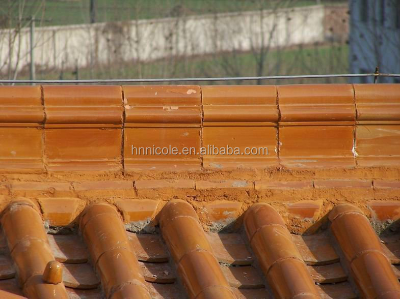 Chinese classical decorative roof ridge tile
