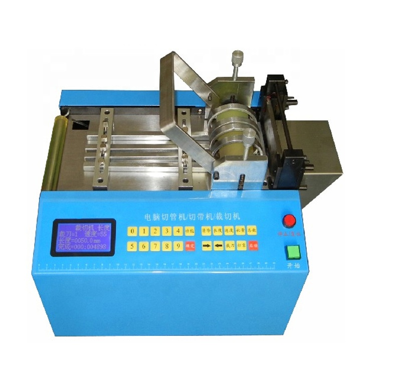 WL-<strong>C100</strong> Automatic sticker cutting machine, film pvc tube cutting machine electric pipe cutters