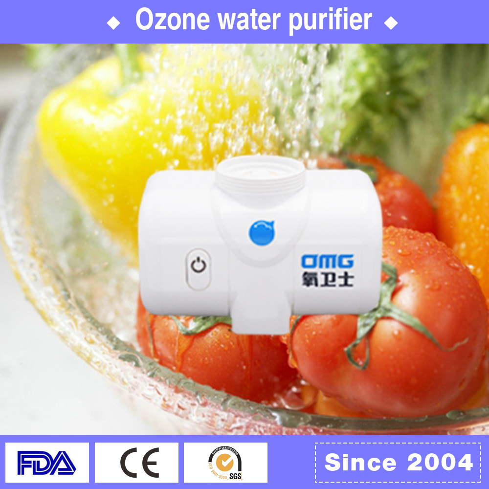 Eliminate harmful bacteria best quality kitchen wall mounted faucet ozone water filter