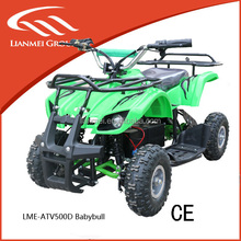 popular best selling 500w electric kids mini atv quad with CE (LME-ATV500D)