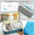 2017 High Quality Tyvek Paper Travel Zipper Cosmetic Pouch Bag With Logo Customized