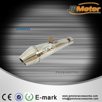 Recommended bullet shape motorcycle slip-on 51mm flexible stainless steel muffler exhaust pipe