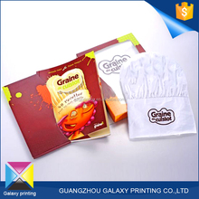 Promotional Wholesale custom size Cheap folder poster /brochure /flyer offset printing with glossing lamination finishing