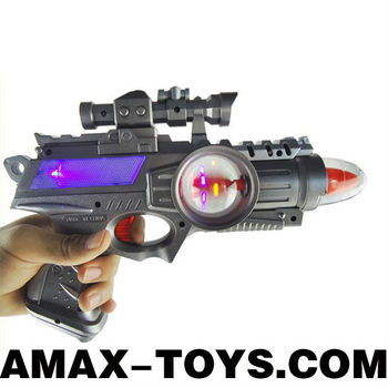 slg-9028030 slg-9028030 Children emulational electric infrared laser gun with sound and light