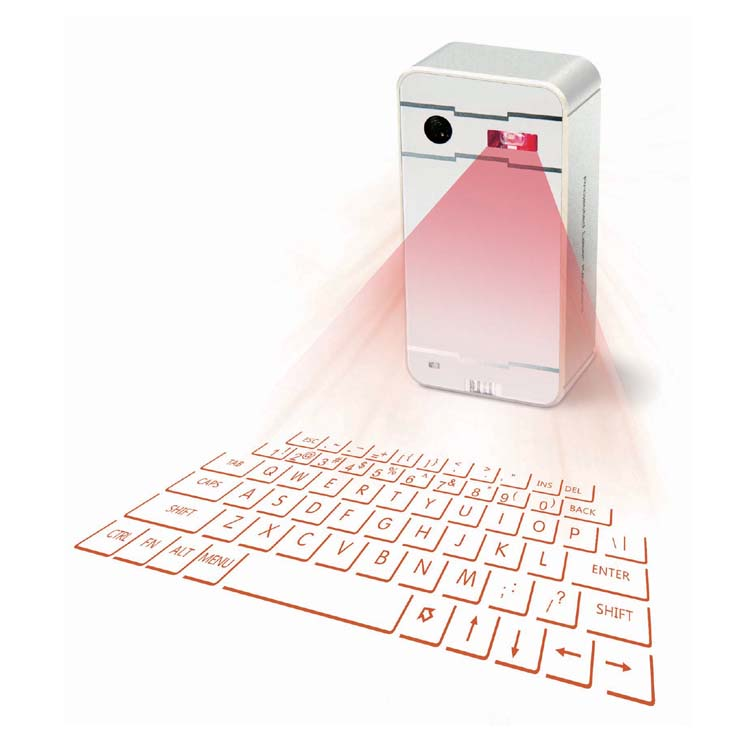 Virtual Laser Projection Keyboard with mouse and speaker