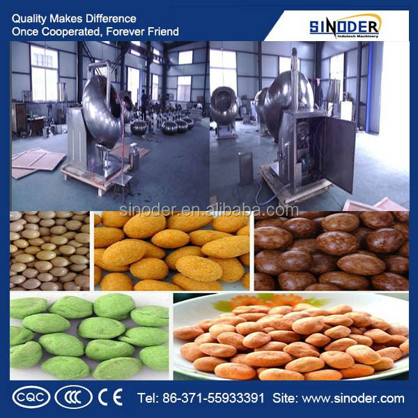 Stainless steel sugar glazing machine, peanut sugar coating machine , tablet coating machine