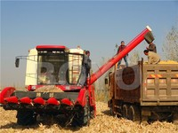 wheat and corn harvesters for distributor