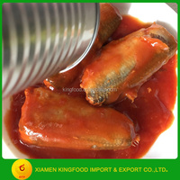 Canned Fish Sardine Fish In Tomato Sauce