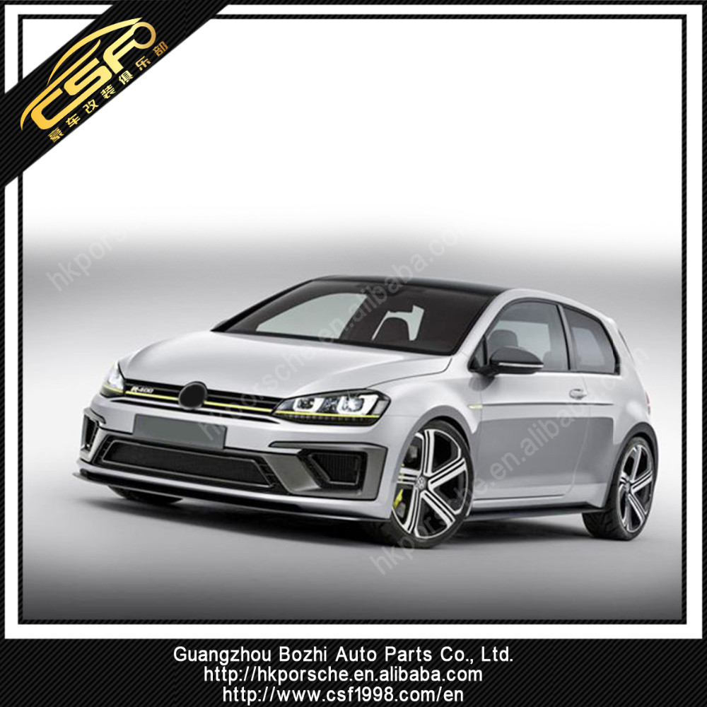 Volkswagen GOLF 7 VII R400 Style Body kit with Exhaust