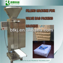 Valve bag weighing and filling machine, pp cement block bottom valve bag filling machine, filling machine for valve bag packing