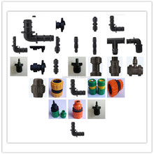 Hdpe compression pipe fittings for water supply,irrigation