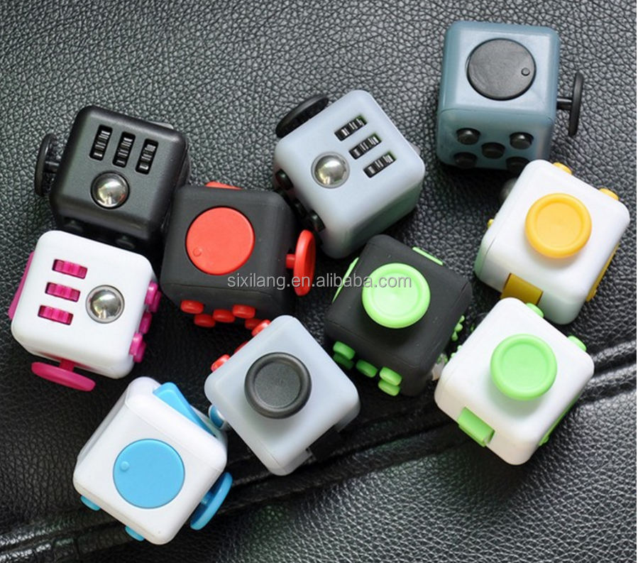 Hot sale ABS fidget cube or twiddle cube