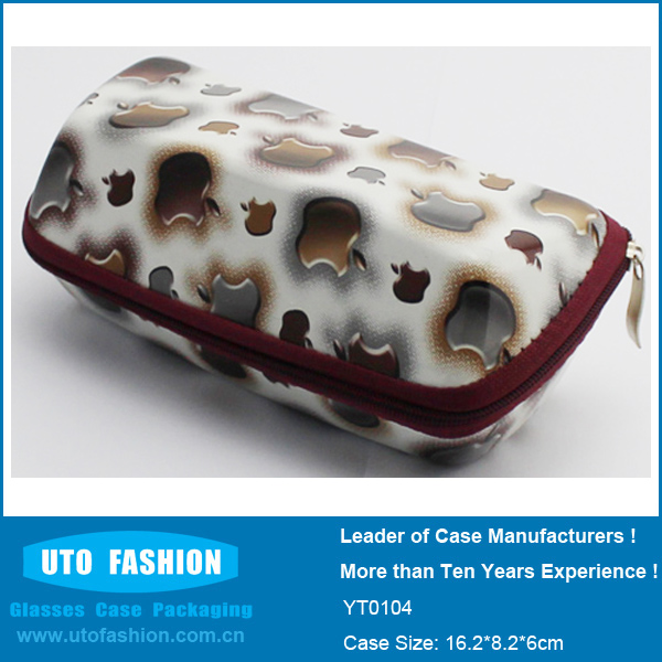 YT0104 Dome Zipper EVA Eyeglasses Case for Kindle Fire