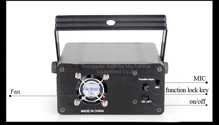 dj equipment china stage effect flame machine led laser full color