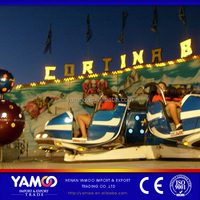 Yamoo theme park equipment for sale crazy dance ride amusement machine for sale
