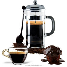 600ml High Quality Stainless Steel French Press Coffee Pot Coffee Filter Household Tea Maker