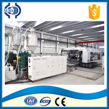 Alibaba trade assurance PE/PP/PET/ABS/HDPE plastic tube extrusion line for hot sale