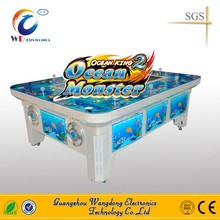 simulator arcade Ocean King 2 fishing arcade video gambling fish 8 players table