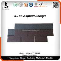 30years Guaranteed Fish scale/3-tab Asphalt roofing shingle price/Metal shingle roofing tile