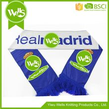 New products custom design printing football fan scarves from China