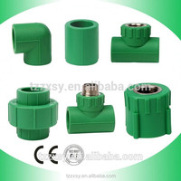 High Quality PN25 Pressure Injection Green PPR Pipe Fittings