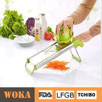 Hand Guard Foldable Kitchen Julienne Slicer Stainless Steel Vegetable Grater