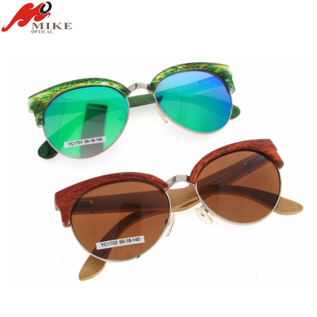 Fashion Cheap Bamboo Wood Sunglasses For Sale