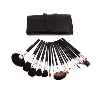 Professional 20pcs black Animal hair cosmetic Brush personal women makeup brushes