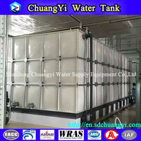 2016 hot sale vertical type fish water tank, fish farming water tank, farming water tank in fishing