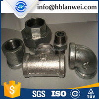 galvanized malleable iron pipe fitting union nipple coupling socket Forged SS/MS/CS/AS Pipe Fittings