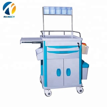 AC-AT022 hot sale patient abs anesthesia emergency  instrument trolley for sales