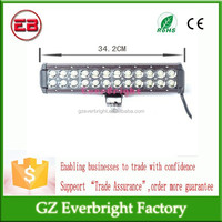 High quality and power 2015 Newest 12inch 5040LM LED Light Bar 72W LED Work Light bar Off-road SUV Truck Mine Lamps HeadLight