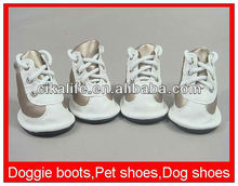 Hot factory larger swimming dog boots mesh