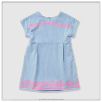 Summer Toddler Dress Short Sleeve Cotton Dresses For Girls Of 3 Year Old