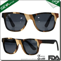Wholesale premium custom bamboo wooden sunglasses