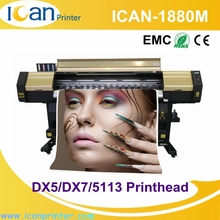 High speed industrial chromojet printing machine CMYK digital chemical photo printer in dubai