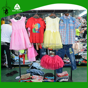 Credential Summer Children Clothing Import Used Clothes Bales In Kg For Sale