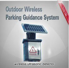 outdoor wireless parking guidance system