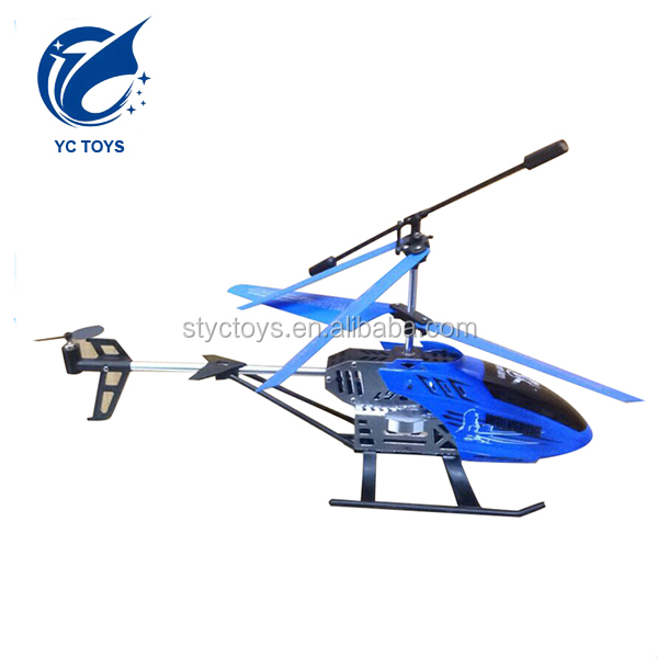 Alloy model UAV rc helicopter China factory direct 3.5ch rc aircraft with gyro for kids and adult